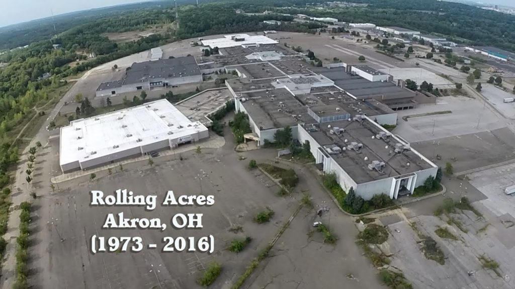 the ruins of rolling acres mall � akron oh � august 2016