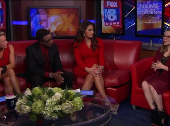 Amanda Berry visits Fox 8 News in the Morning | Akron City Guide
